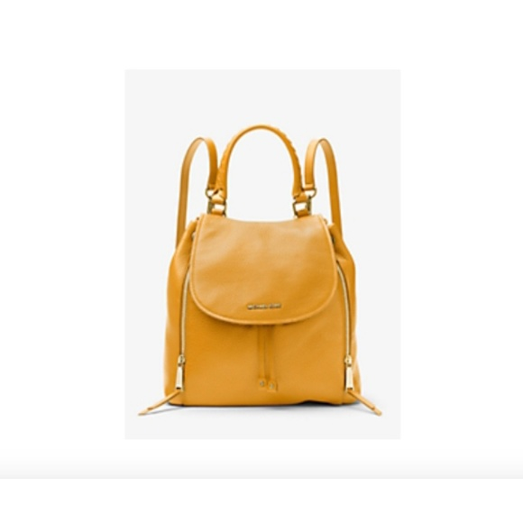 0bc97b1fae42aa Michael Kors Bags | Viv Large Leather Backpack | Poshmark